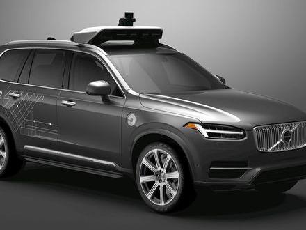 Volvo sluter avtal med Uber
