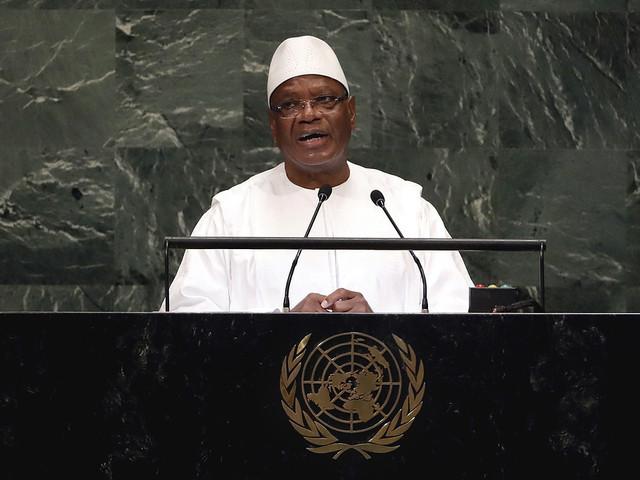 Malis regering avgår