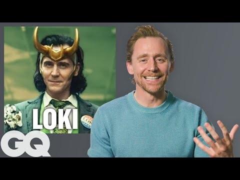 Tom Hiddleston går igenom sin karriär