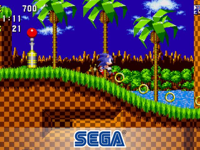 Sega släpper Sonic och andra klassiska spel för Android