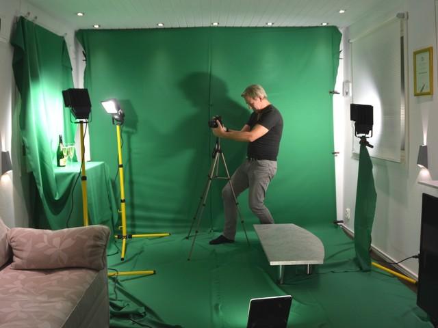 Fota och filma med greenscreen