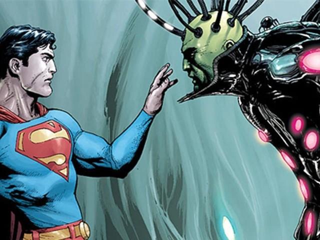 Henry Cavill vill gärna se Brainiac i Man of Steel 2