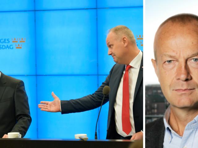 Jonas Sjöstedts tak rasar in med dunder och brak