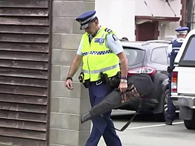 Nyzeeländare lämnar in vapen efter moskédådet