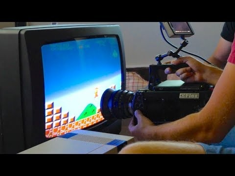 Slow Mo Guys filmar TV-apparater i slow motion