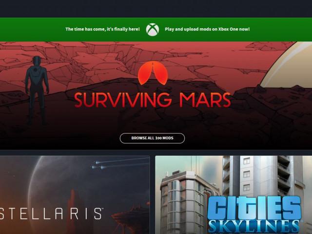 Microsoft och Paradoxgör moddar för PC-spel tillgängliga på XboxOne