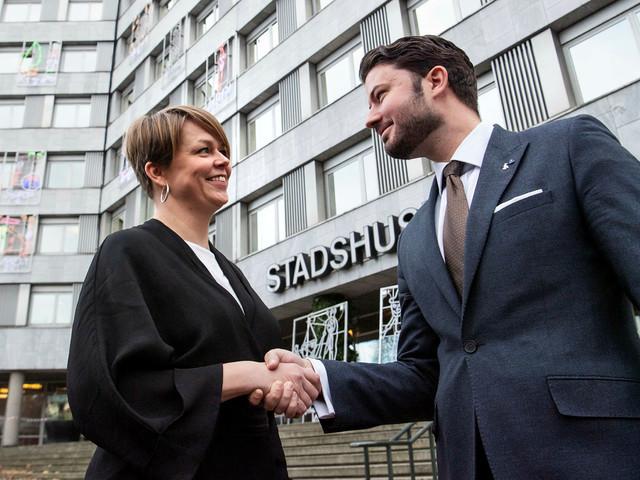 Kalldusch för Malmös mittenstyre – M, V och SD i gemensam offensiv