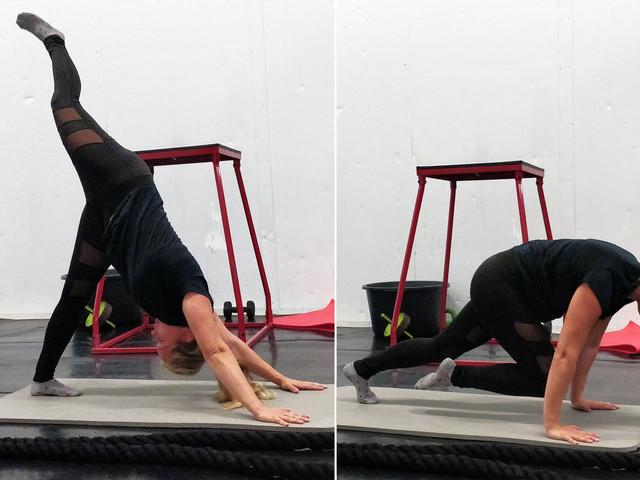 Veckans övning: Hunden till planka