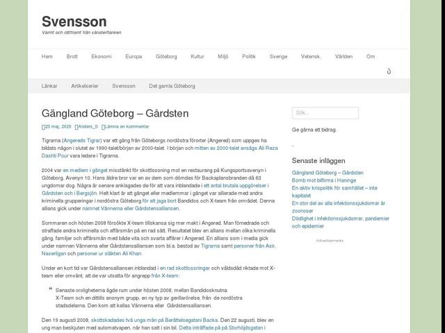 Gängland Göteborg – Gårdsten