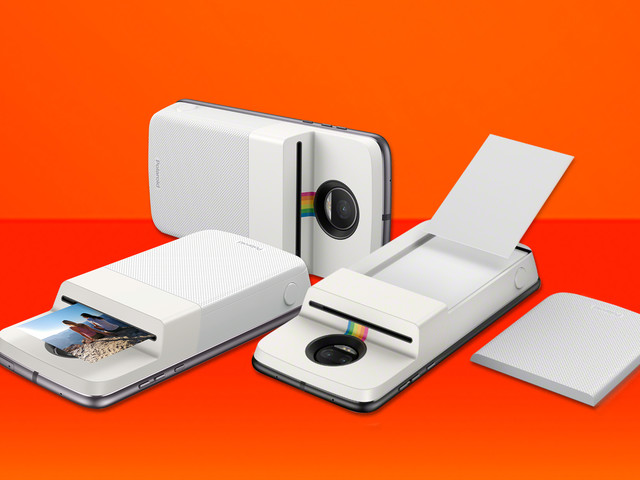 Senaste Moto Mod för Motorola Moto Z är en Polaroid-skrivare