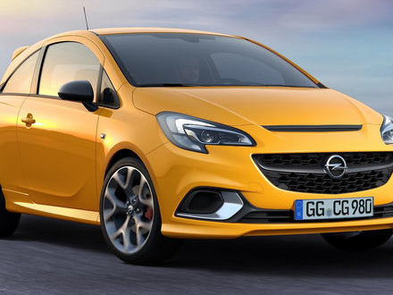 Opel visar nya Corsa GSi