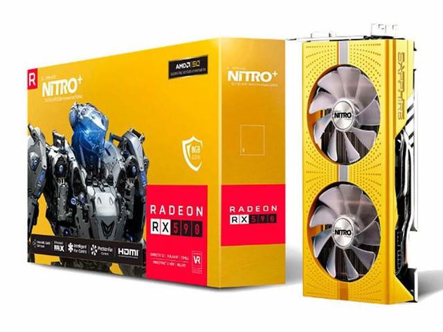 Sapphire förbereder gyllene RadeonRX590 inför AMD:s 50-årsfirande