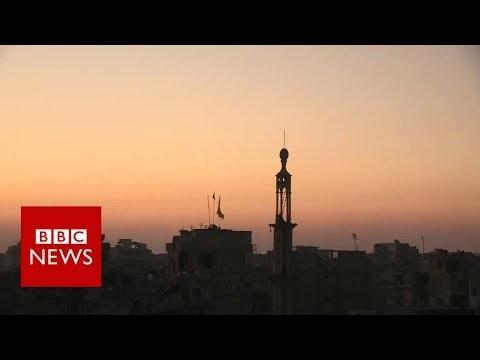 USA släppte iväg IS från Raqqa för att kämpa mot Syriens armé!