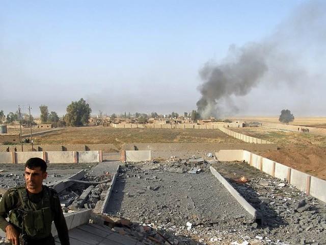 Iraks armé rycker fram – oro i Kirkuk