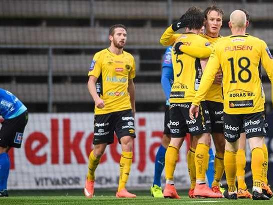 Nya mittbackparets succédebut i Elfsborg