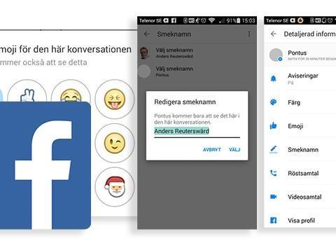 Hemliga knepet gör Facebook-chatten personlig