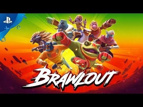 Brawlout släpps 21 augusti till PS4 och Xbox One