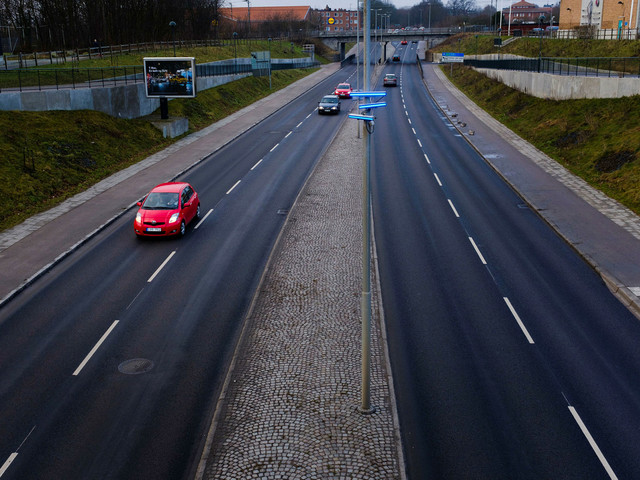 Möjligt trendbrott – biltrafiken minskade i Lund 2017