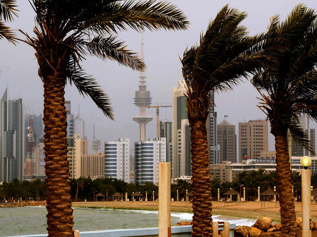 Drönare observerades i Kuwait