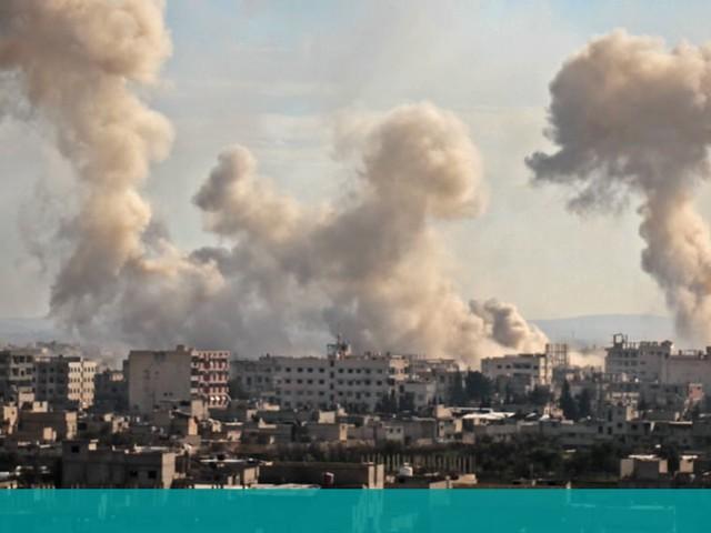 Bombningarna av Ghouta i Syrien fortsätter –måndagen värsta dagen på tre år
