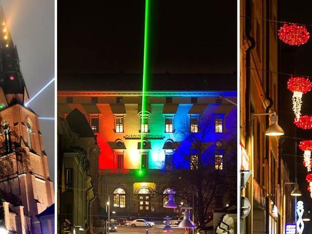 Glädjebeskedet: Allt ljus på Uppsala - varje år
