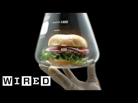 Wired tar en titt på konstgjort kött