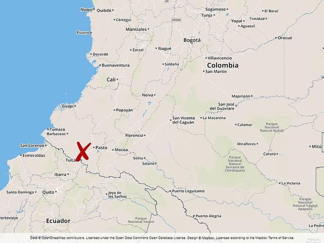 13 döda vid jordskred i Colombia