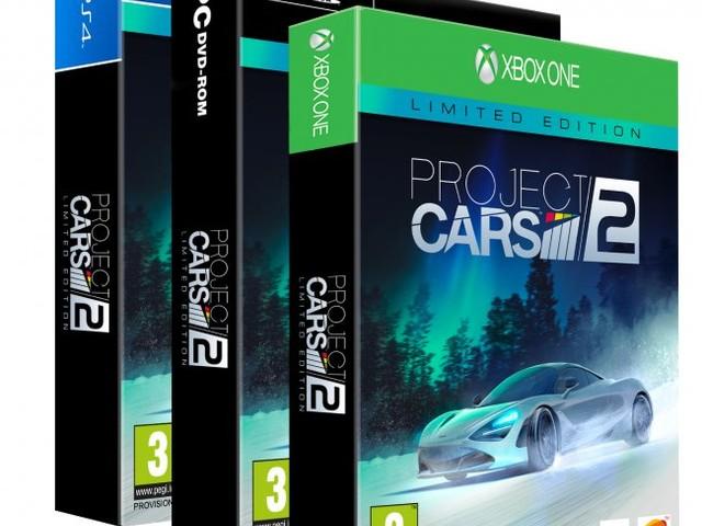 Vinn Project Cars 2 (+ mössa) till valfritt format
