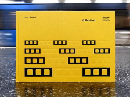Kollektivet är en fotobok om livet i Stockholms tunnelbana