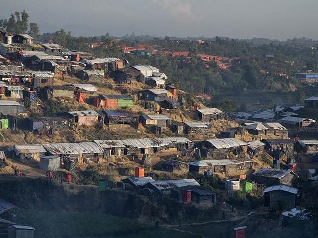 Kinesisk krisplan för rohingyer