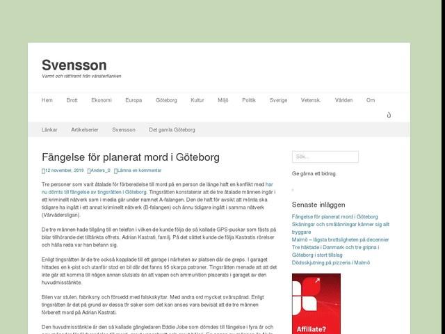 Fängelse för planerat mord i Göteborg