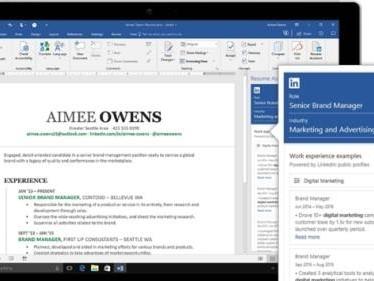 Boosta ditt cv: Microsoft kopplar ihop Linkedin med Word