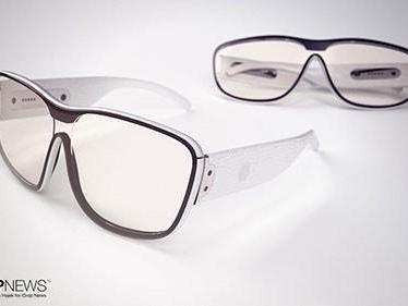 Konceptbilder ger en vision av Apples smarta glasögon