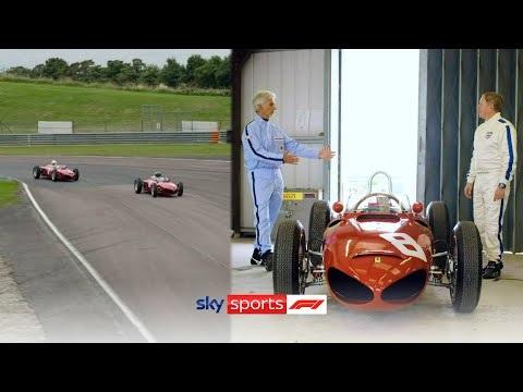 Martin Brundle och Damon Hill kör Sharknose