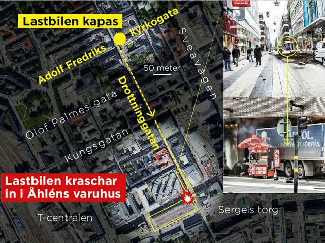 Tidslinje: Det här hände den 7 april på Drottninggatan