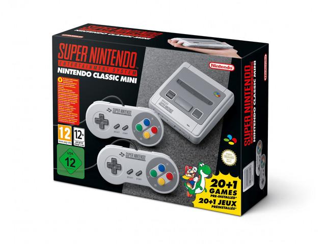 Nintendo tillkännager SNES Classic Edition med 21 förinstallerade spel