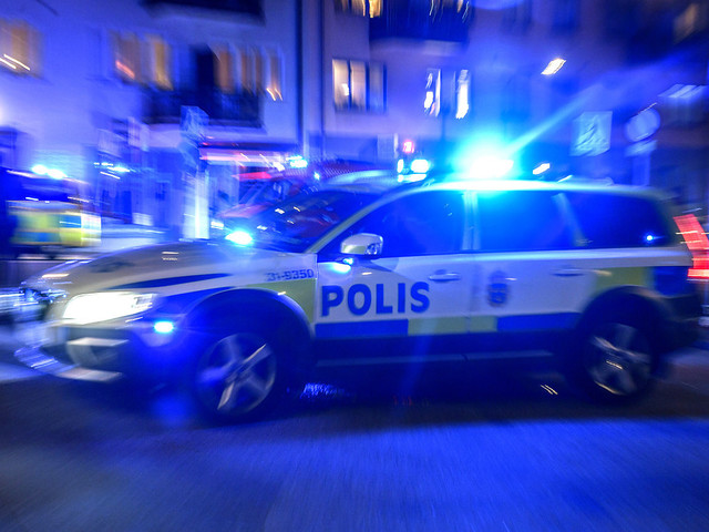 Beväpnade män avbröt middag – kan ha gått fel