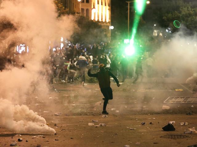 Nya gatuprotester i Libanon