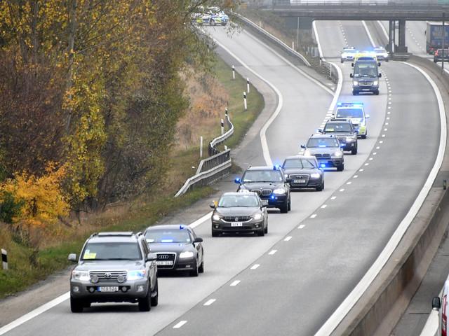 Polisen övar eskortkörning inför stora statsbesök