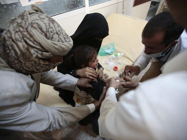 Röda Korset: 600 000 väntas få kolera i Jemen under 2017