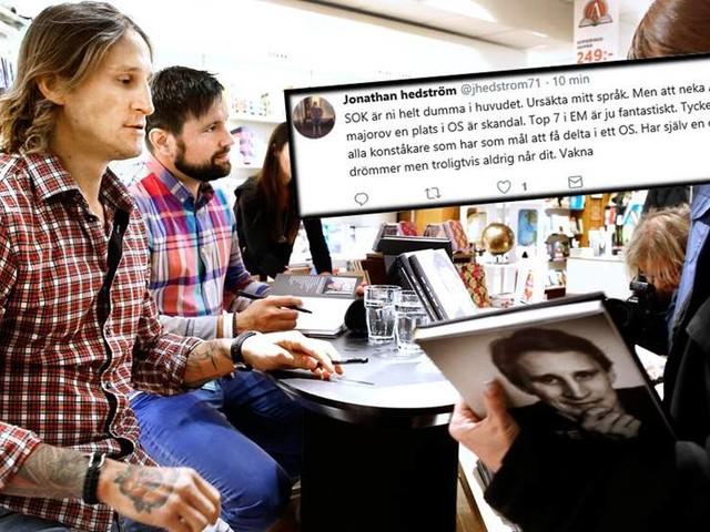 """Hedström rasar efter OS-beskedet: """"Skandal"""""""