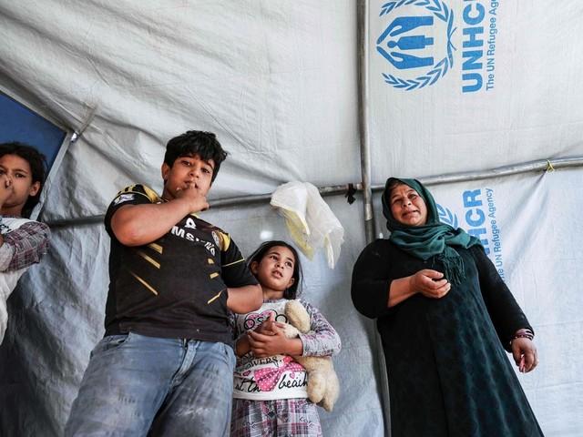 Flyktingarna vill återvända – men kan inte