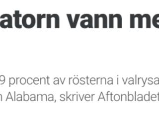 Icke-tänkande svenska journalister