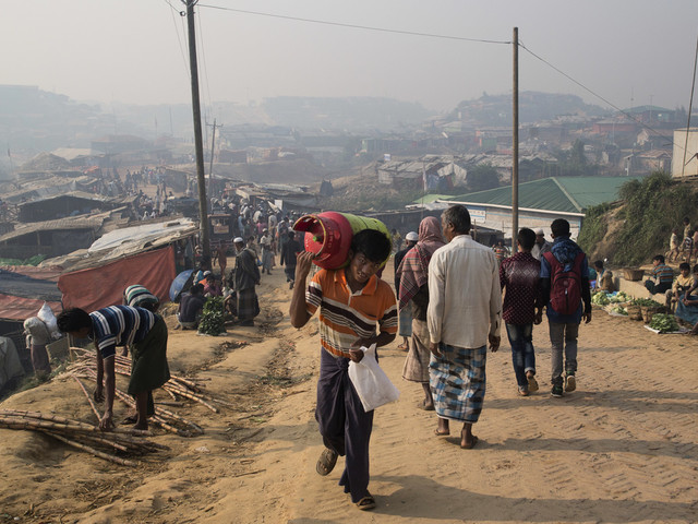 Rohingyer vill inte återvända till Myanmar