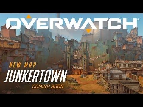 Den nya Overwatch-kartan heter Junkertown