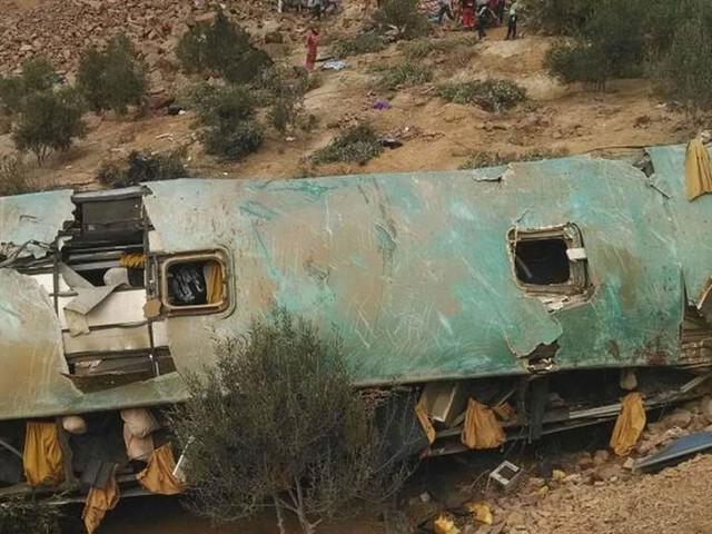 Över 40 döda i bussolycka i Peru