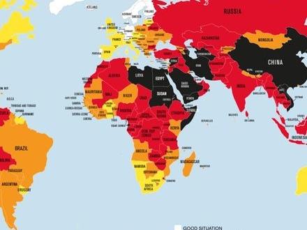Sverige trea på pressfrihetslista