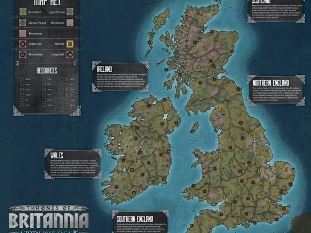 En närmare titt på A Total War Saga: Thrones of Britannia