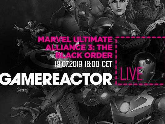 Gamereactor Live: Vi spelar Marvel Ultimate Alliance 3