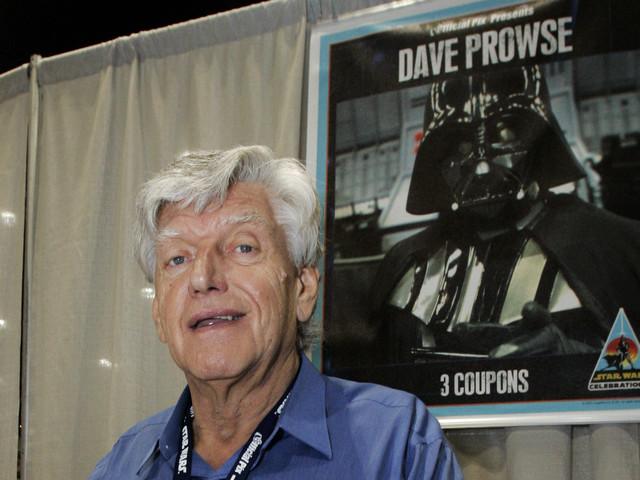 Mannen bakom Darth Vader-masken död